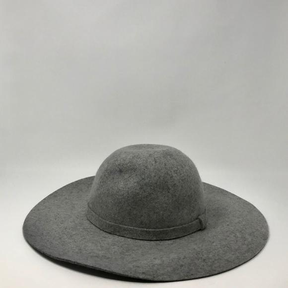 807e6331882 NWT  225 Rag   Bone Grey Felt Floppy Brim Hat